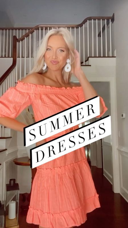 Summer Dresses wearing a small in all