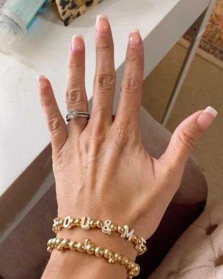 Baublebar stacking bracelets buy 2 get 20% off with code STACKING20 Pisa bracelets Custom bracelets Name bracelets Tennis bracelets  #LTKunder50 #LTKsalealert #LTKstyletip