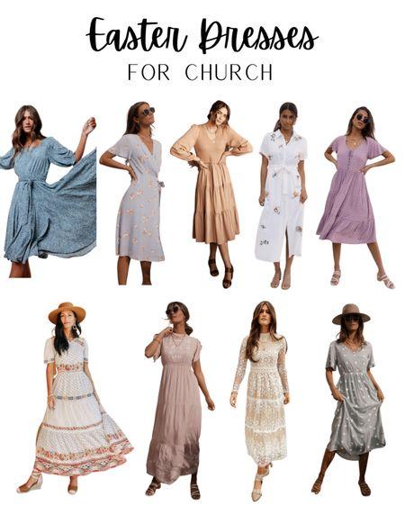 Easter dresses, spring dress, dress, wedding guest dress, dresses, modest dress, modest dresses, church dress. #LTKunder100 #LTKstyletip #LTKwedding #liketkit @liketoknow.it http://liketk.it/3b1Q7