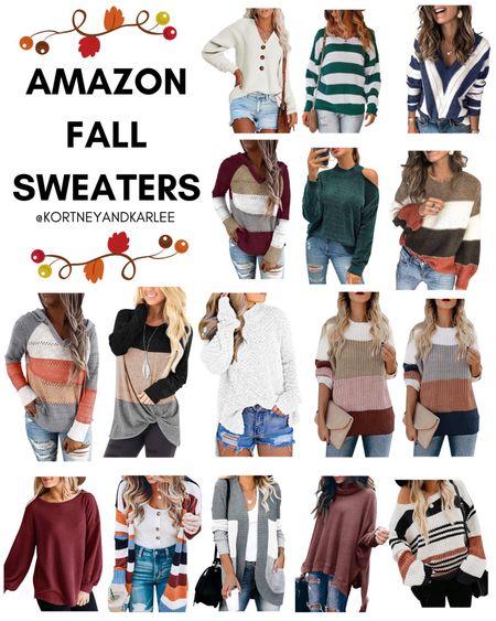 Amazon Fall Sweaters!  Amazon fall sweater | affordable fall sweater | Affordable amazon sweater | Affordable Amazon fall sweater | fall sweater from Amazon | chunky fall sweater | striped fall sweater | fall sweater outfits | fall sweater outfit ideas | fall sweater from Amazon | Amazon finds | amazon girly things | amazon beauty | amazon home finds | amazon self care | amazon beauty favorites | amazon fashion favorites | amazon must haves | amazon best sellers | amazon fall finds | amazon fall favorites | fall favorites | amazon fall essentials | amazon fall must haves | amazon beach essentials | amazon summer finds | amazon summer favorites | amazon beach favorites | amazon beach must haves | summer favorites | amazon summer essentials | amazon vacay | amazon vacay favorites | amazon beach favorites | amazon vacation favorites | amazon summer must haves | Kortney and Karlee | #kortneyandkarlee #LTKunder50 #LTKunder100 #LTKsalealert #LTKstyletip #LTKshoecrush #LTKSeasonal #LTKtravel #LTKswim #LTKbeauty #LTKhome @liketoknow.it #liketkit
