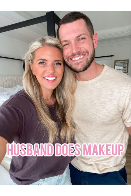 Drew does my makeup using my real everyday makeup products. Linking everything here 😂👏🏼  #LTKunder50 #LTKbeauty