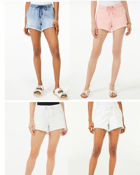 Drawstring shorts by Scoop at Walmart, $22, four colors http://liketk.it/3gIwN #liketkit @liketoknow.it #LTKunder50