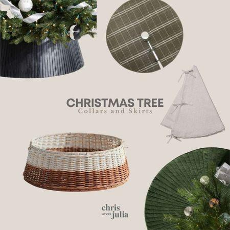 Christmas Tree Skirts, Tree Collars   #LTKHoliday #LTKSeasonal