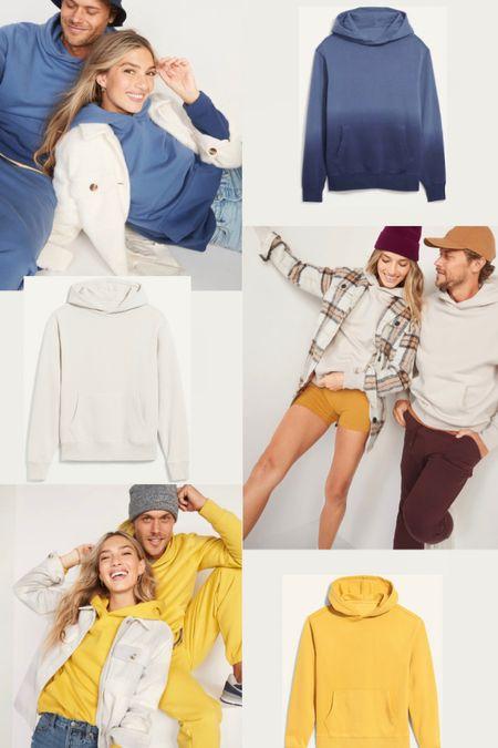 Old Navy Sweatshirt Sale 50% off. Men's and women's fall fashion. Gender neutral. Unisex. Loungewear.  #LTKfamily #LTKunder50 #LTKsalealert