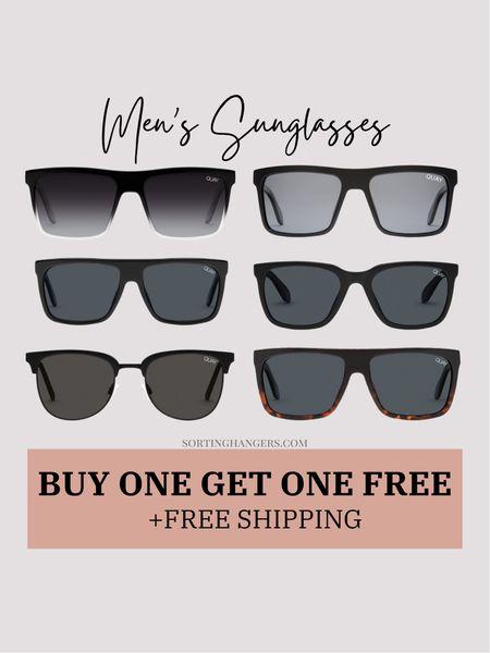 Quay Men's Sunglasses~ Buy one get one free + free shipping     #LTKsalealert #LTKSeasonal #LTKmens