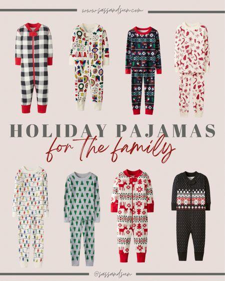 Favorite holiday pajamas for the family are 40% off!!! So many cute prints for the holidays! Holiday pjs / Christmas pajamas    #LTKHoliday #LTKGiftGuide #LTKfamily