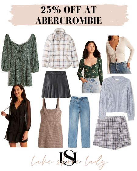 A few more Abercrombie picks! Get 25% off by copying the code!