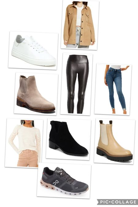 What I ordered in the #nsale. I definitely use this sale for staple upgrades or replacements. This year I knew I wanted a pair of Chelsea boots, white sneakers, new tennis shoes and I really wanted to give Good American jeans a try.   #LTKsalealert