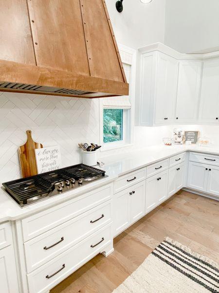 Farmhouse Kitchen Inspo #targethome #kitcheninspo #targetstyle #farmhousedecor #homedecor  #LTKhome #LTKunder50 #LTKunder100
