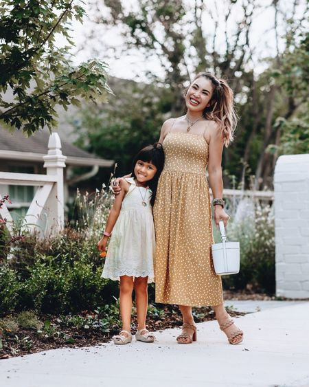 Amazon fashion beauty hair finds  Amazon GoodThreads summer sundress - XS / TTS  Braided quilted slide sandals - 6 / size up  Hair tie elastic for thick hair (perfect for extensions) Target summer girls dress   @liketoknow.it http://liketk.it/3gWZ3 #liketkit #LTKfamily #LTKkids #LTKunder50