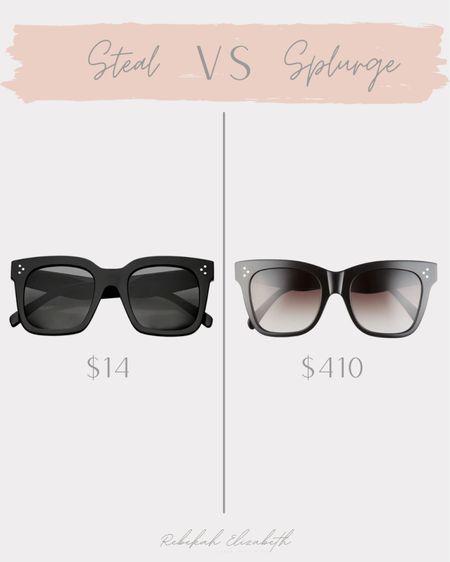 My favorite designer inspired sunglasses under $20 🖤 #rebekahelizstyle  #LTKunder50 #LTKSale #LTKstyletip