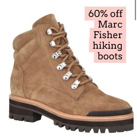 Marc fisher hiking boots on sale   #LTKsalealert #LTKSeasonal #LTKshoecrush