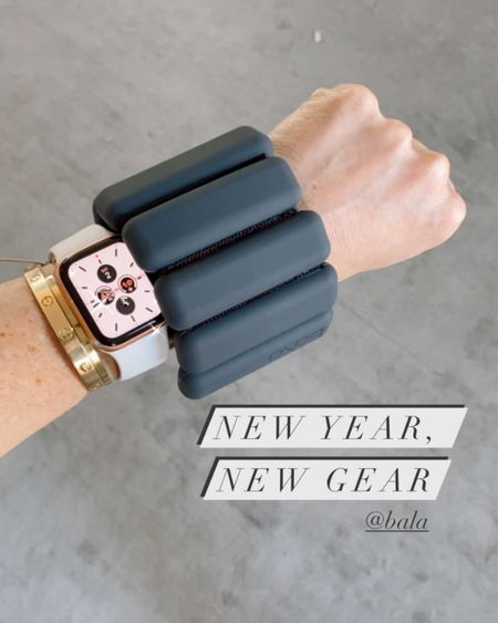New year goals, weights, ankle weights, wrist weights, fitness, sculpt instructor, workout style, fitness watch, finding beauty mom http://liketk.it/353ZG #liketkit @liketoknow.it #LTKNewYear #LTKfit
