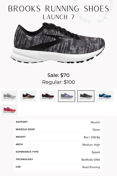 Brooks running shoes - launch 7, size up 1/2 size http://liketk.it/3hGAn #liketkit @liketoknow.it #LTKfit #LTKsalealert #LTKshoecrush