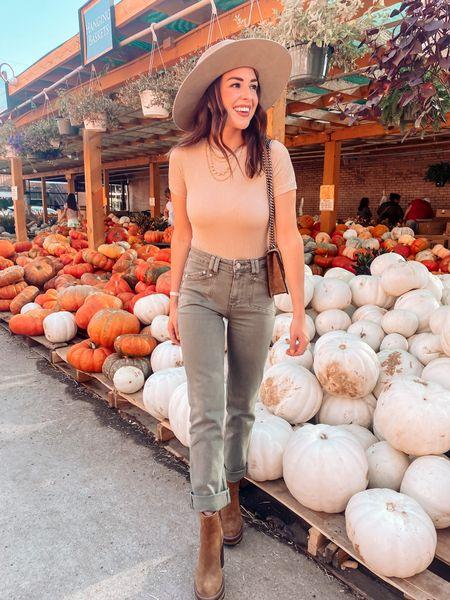 Fall style / neutral style / brown booties   #LTKfit #LTKSeasonal