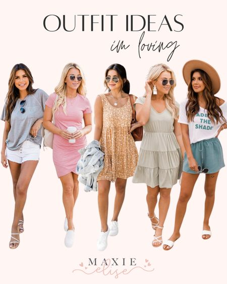 Outfit Ideas I'm Loving From Pink Lily Boutique 🌸  #outfitideas #summeroutfits #pinklily #pinklilyboutique #summerfashion #minidress #bodycondress #graphictee #casualoutfit #summeroutfitinspo  #LTKSeasonal #LTKstyletip #LTKunder100