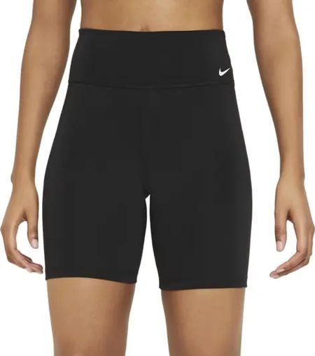 Road trip Nike biker shorts! Also linked my long sleeve tee! It's the softest!!!!   #LTKunder50 #LTKfit #LTKtravel