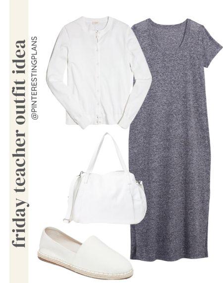 Friday teacher outfit Idea🙌🏻🙌🏻  #LTKstyletip #LTKshoecrush #LTKitbag