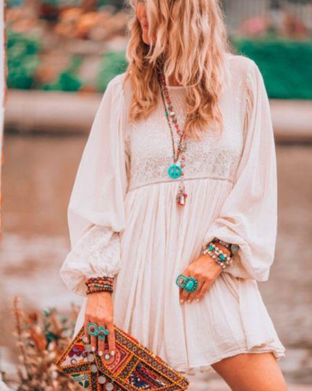 A little boho dress   #liketkit @liketoknow.it http://liketk.it/2w598