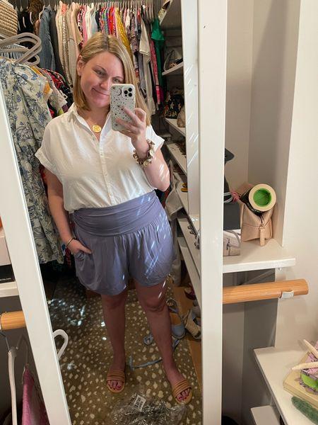 My postpartum/ fourth trimester summer uniform!   #LTKbump #LTKunder100 #LTKunder50