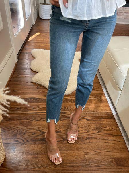 Cropped jeans size 00  #LTKsalealert #LTKunder100 #LTKunder50