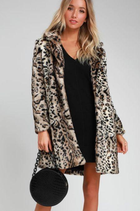 Love this leopard print coat for fall. http://liketk.it/3073X #liketkit @liketoknow.it #LTKstyletip # LTK fall