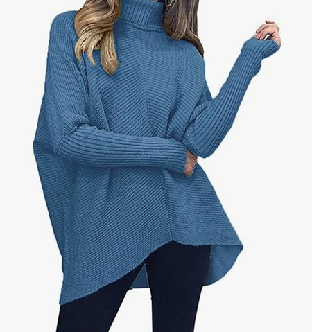 The Amazon sweater of 2021! It's perfect for leggings and runs oversized. Own size small   #LTKstyletip #LTKunder50 #LTKsalealert