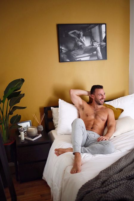 Following my dreams by going back to bed! You'll have to come over and pull me out of bed now that my bedroom sanctuary is complete thanks to my new Casaluna bedding and fragrances available at @target #ad The best night's sleep I've had in quite some time! Now that we're spending so much of the day/night at home it's time to stock up on all the bedding essentials and these are the ones you absolutely need! Check out the products via my stories, my new blog post, or by using this @liketoknow.it link: http://liketk.it/2Z2wv #liketkit #LTKhome #LTKmens