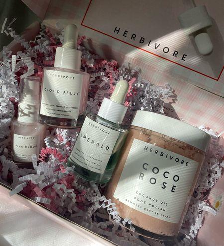 herbivore favorites. Beauty under $50. Clean beauty. CBD face oil. Herbivore products. Herbivore Cloud Jelly. Revolve beauty.   #LTKunder50 #LTKbeauty