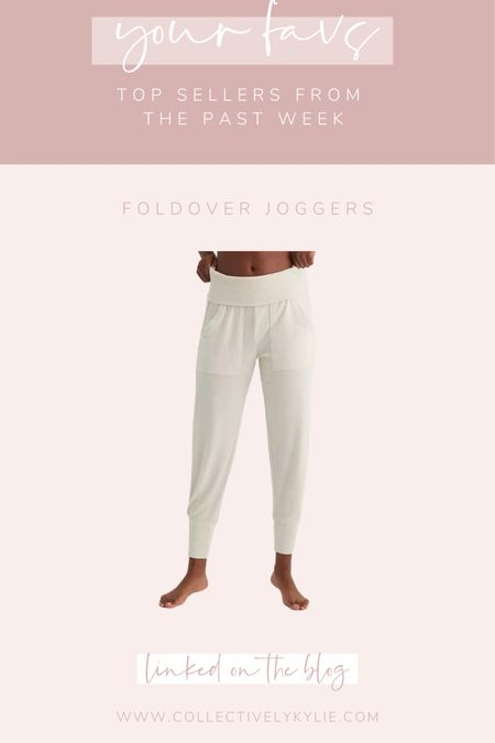 Could not be more in love with these Aerie fold over joggers! They are so comfy and a perfect gift for the homebody on your list. http://liketk.it/33onL #liketkit @liketoknow.it #LTKgiftspo #StayHomeWithLTK #LTKunder50
