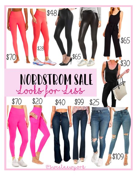 Rounding up some Nordstrom #NSALE pants, leggings and jeans and Amazon finds for less   #LTKfit #LTKsalealert #LTKunder100
