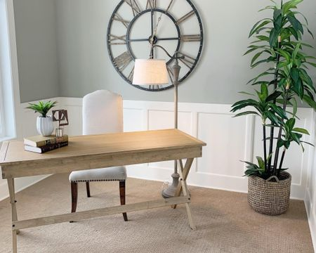 Looking for a writing desk? This desk is our favorite desk to use when we stage and works great in any home. It's a solid natural wood piece with a top drawer. http://liketk.it/2QU2p #liketkit @liketoknow.it #StayHomeWithLTK #LTKhome @liketoknow.it.home Follow me on the LIKEtoKNOW.it shopping app to get the product details for this look and others