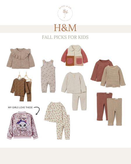 I love fall clothing for kids and H&M had a few cute things I scooped up!