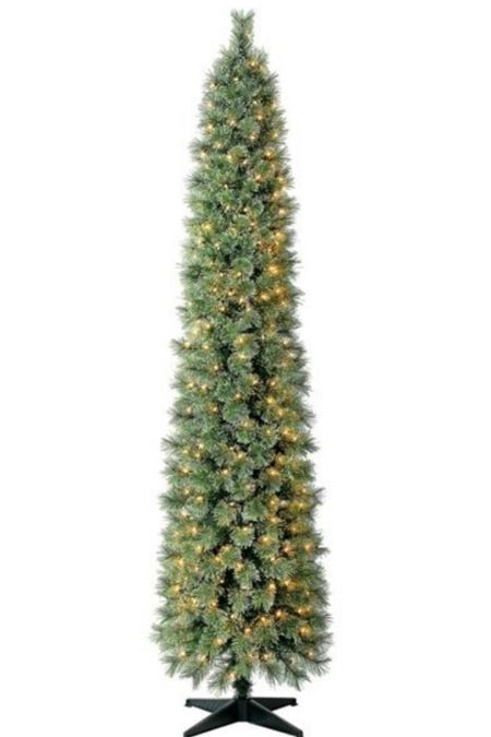 7' pre-lit Slim Christmas Tree - $59!! HURRY!!   #LTKunder100 #LTKHoliday #LTKhome