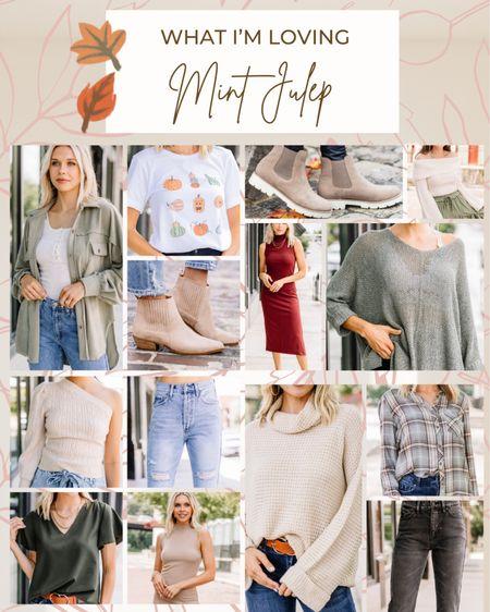 A few of my early Fall favorites from Mint Julep Boutique!!  #falloutfits #shopthemint #  #LTKbacktoschool #LTKstyletip #LTKSeasonal