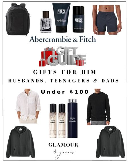 Gifts for Dads, husbands, sons & all of the men in your life under $100. Luxury fragrances, fashion & stocking stuffers. The most wanted holiday gifts.  #LTKGiftGuide #LTKunder100 #LTKHoliday