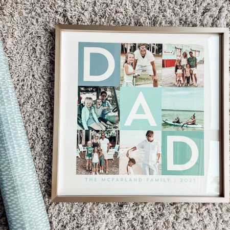 Minted Father's Day gift ideas Personalized gifts for him  Blue wrapping paper Gift wrap #mintedpartner http://liketk.it/3gYiE #liketkit @liketoknow.it #ltkseasonal #competition