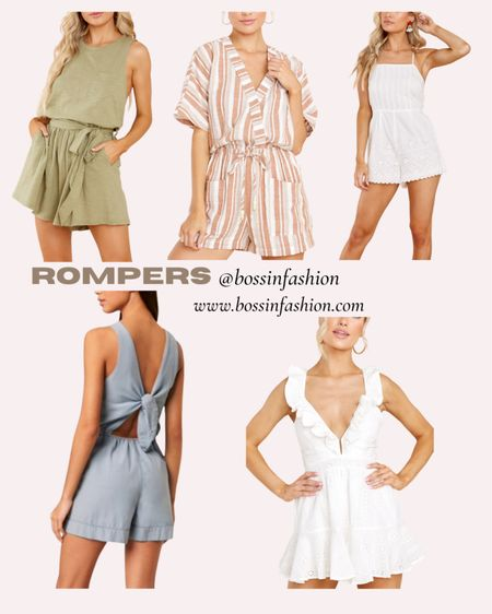 Rompers are the best for summer. Shop my favs!! #romper #ootd #summerromper http://liketk.it/3huos #liketkit @liketoknow.it #LTKunder100 You can instantly shop my looks by following me on the LIKEtoKNOW.it shopping app