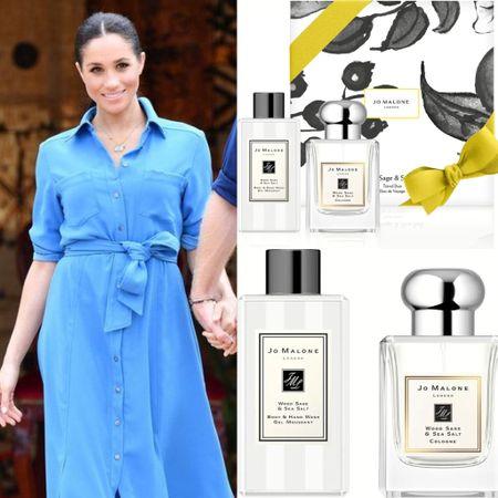 Meghan's Fav wood sage perfume by jo Malone on discount at anniversary sale #perfume  #LTKbeauty #LTKsalealert