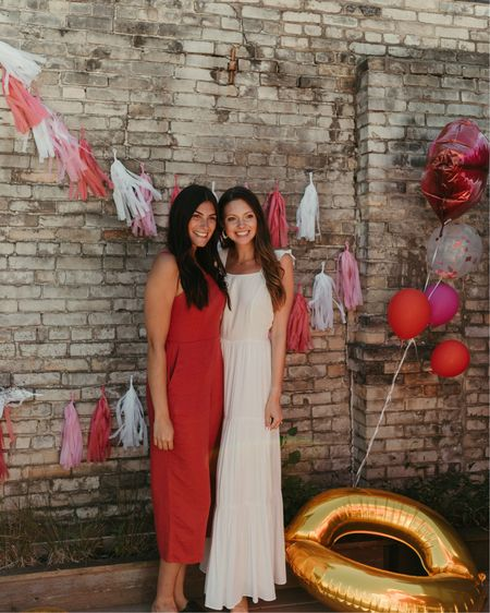 Kiss the Miss goodbye bridal shower ft. My favorite summer white maxi dress 💋  #bride #bridalshower #kissthemissgoodbye #frommisstomrs #mrs #miss #kiss #pink #red #pinkbridalshower #redbridalshower #whitebridalshower #bridalshowerdecor #weddingshower #weddingshowerdecor #flowerbar #bridalshowerflowers #weddingshowerflowers http://liketk.it/38sPk #liketkit http://liketk.it/37WHt @liketoknow.it #bridalshowerdress #bridalshowershoes #bridalshoweroutfit #weddingshoweroutfit #weddingshowerdress #whitemaxidress