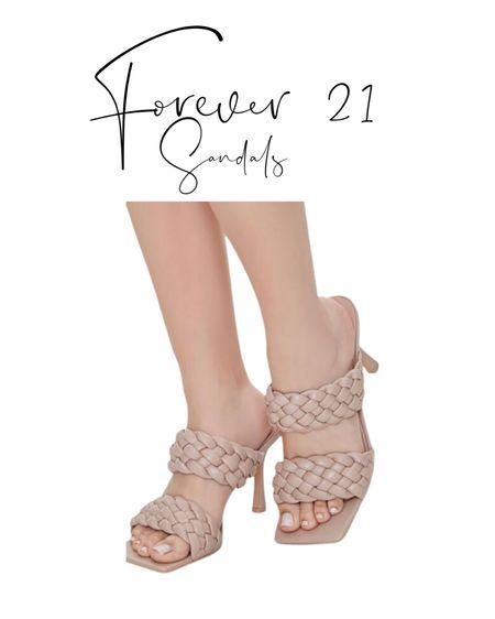 Forever 21 sandals http://liketk.it/3aAwL #liketkit @liketoknow.it #LTKunder50 #LTKunder100 #LTKstyletip