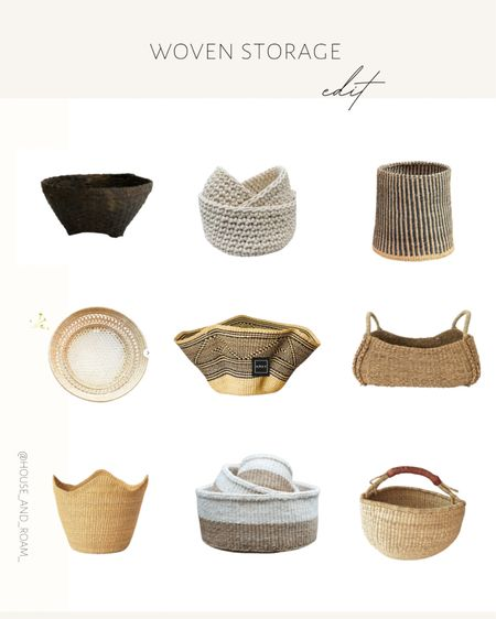 Beautiful artisan bowls are a great idea for your children's arts and craft supplies or games. Keep them out at all times  on a dining or kitchen table to encouy the creativity and fun. ✨ #artsandcrafts #artisan #baskets #stirage #studiomcgee #bowls #woven #storageideas http://liketk.it/3cKZi #liketkit @liketoknow.it #LTKunder50 #LTKhome #LTKfamily @liketoknow.it.family @liketoknow.it.home Shop your screenshot of this pic with the LIKEtoKNOW.it shopping app
