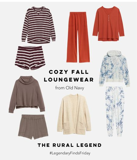 @oldnavy's cozy knits and ultra-soft loungewear is exactly what I want to live in on those chilly fall nights snuggled up with my fam! (And let's be honest, I've already been living in their Sunday Sleepwear for months because it's just that comfy!!!)  and SALE ALERT! everything is 35% off with a gap family credit card and code SCORE!   These gorgeous fall tones have me 😍  #LTKunder50 #LTKcurves #LTKSeasonal
