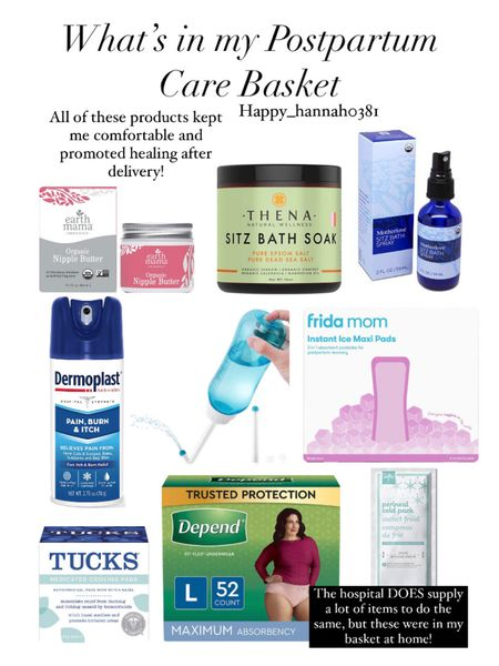 We are getting so close to our delivery date! I can't believe how fast this second pregnancy has gone. It's truly amazing how what our bodies can do! We went ahead and stocked up on postpartum care items, and these items are all placed in a basket in my bathroom. Super convenient and really promoted healing and comfort last time around! #LTKbaby #LTKbump #LTKunder50 http://liketk.it/3fueo #liketkit @liketoknow.it