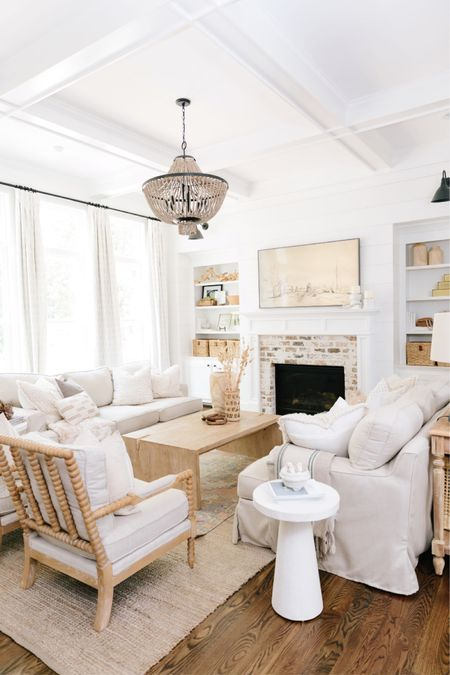Living rooms are so major when it comes to staging a home to sell! Set up a neutral, inviting space that welcomes conversation! http://liketk.it/3egu2 #liketkit @liketoknow.it #LTKhome #neutraldecor #livingroom #stagingtosell #sellinghome #neutral #couch #sidetable #lamp