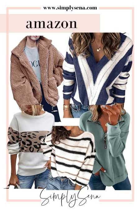 Amazon Fashion  #amazonfinds #amazonfashion #amazon #sweaters #fallfashion #ltkunder100 #ltkseasonal   #LTKstyletip #LTKGiftGuide #LTKunder50