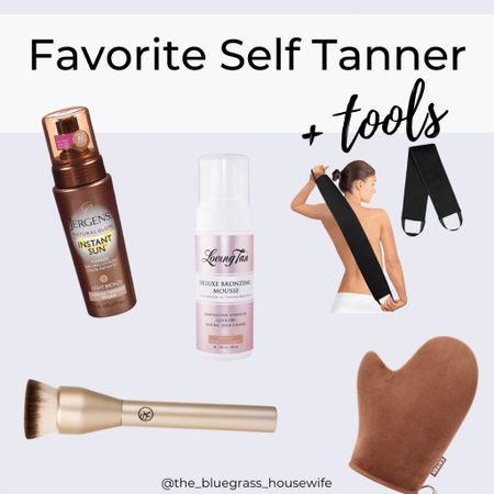 Fav self tanners and tools to apply them @liketoknow.it #liketkit http://liketk.it/3csyR