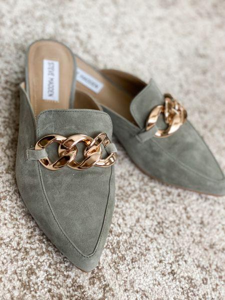 Steve Madden mules on sale !! Perfect fall shoe ! I size up 1/2 size —   #LTKshoecrush #LTKsalealert #LTKunder100