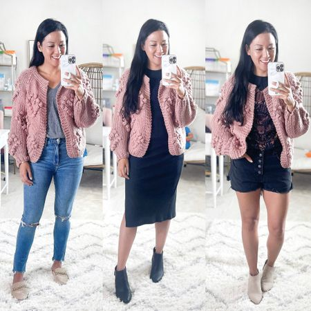 Today I'm styling 3 different pieces from @Walmart 3 different ways for a total of 9 outfits! Everything is under $40! 🙌  Which look is your favorite?  #LTKsalealert #LTKunder50 #LTKSeasonal
