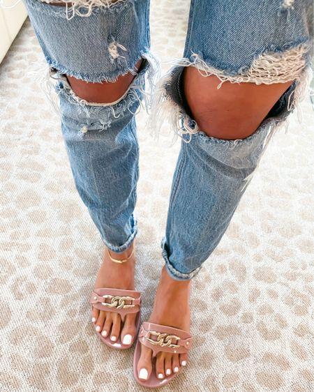 Sandals On sale size 6 size 24 Jeans http://liketk.it/3gqRZ #liketkit @liketoknow.it #LTKunder50 #LTKunder100 #LTKshoecrush